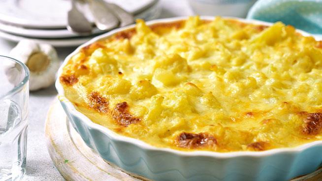 Cauliflower and Macaroni Cheese Bake 8-10m+