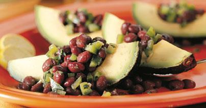 Healthy Pregnancy Recipes: Avocado Black Bean Salad