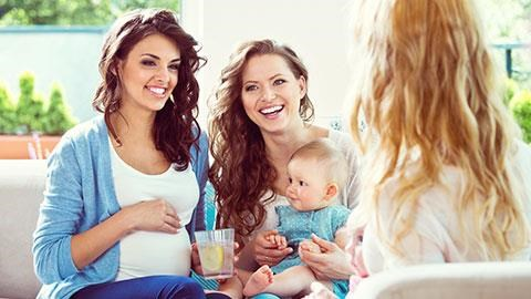 How to Plan for a Baby with Friends and Family