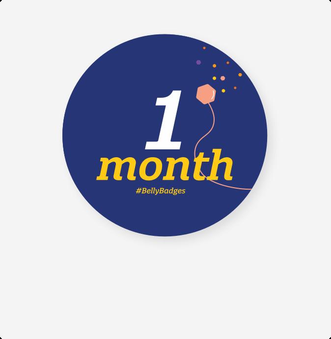 1 Month Badge
