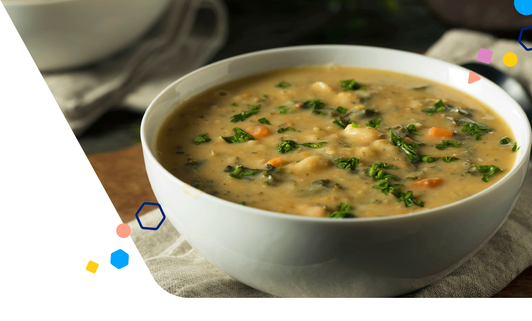 creamy-white-bean-soup-cabbage-and-salmon