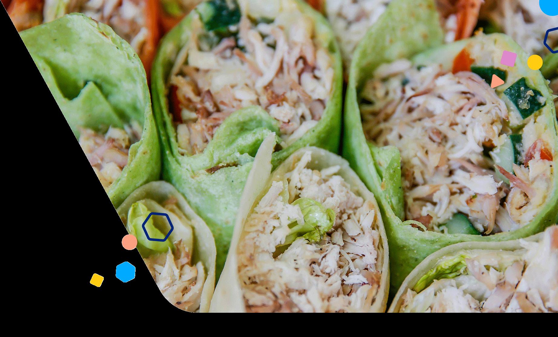 tuna-rice-paper-rolls