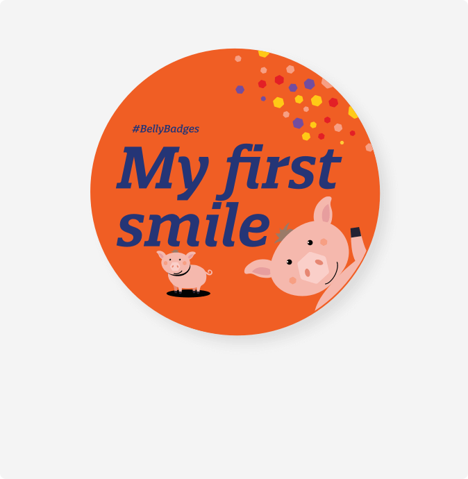 My First Smile Badge