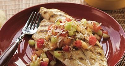 Healthy Grilled Catfish Recipe for Moms-to-be
