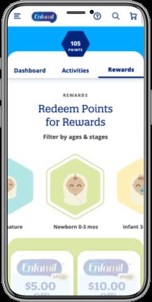 Enfamil Redeem Points App